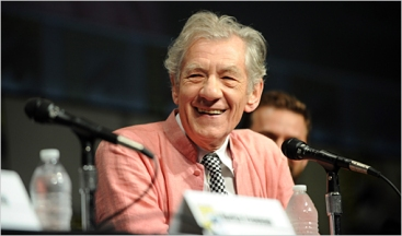 Sir Ian McKellen Comic Con 2012 The Hobbit Panel Lord of the Rings J.R.R. Tolkien