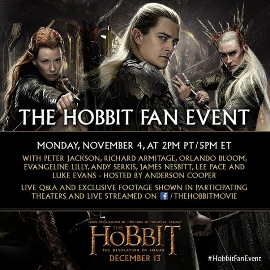 hobbit fan event
